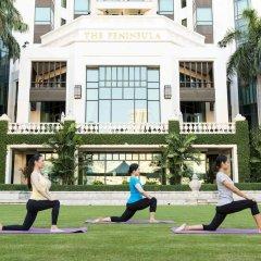 Отель The Peninsula Bangkok Таиланд, Бангкок - 1 отзыв об отеле, цены и фото номеров - забронировать отель The Peninsula Bangkok онлайн фитнесс-зал фото 2