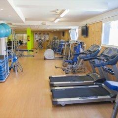 Отель Nubahotel Coma-ruga фитнесс-зал