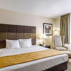 Отель Quality Inn & Suites Denver Stapleton комната для гостей