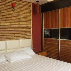 Отель Clear Sky Inn By Wonderland Maldives Мале комната для гостей