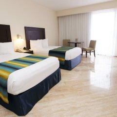 Отель Crown Paradise Club Cancun - Todo Incluido комната для гостей фото 2