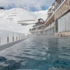 Отель Alpenhotel Enzian Зёльден бассейн фото 3