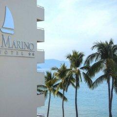 Отель San Marino пляж фото 2