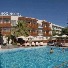Minos Hotel бассейн фото 3