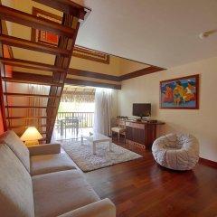Отель Manava Beach Resort and Spa Moorea Французская Полинезия, Папеэте - отзывы, цены и фото номеров - забронировать отель Manava Beach Resort and Spa Moorea онлайн комната для гостей фото 3