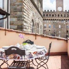 Апартаменты Art Apartment Palazzo Vecchio Флоренция балкон