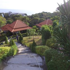 Отель Kantiang View Resort Ланта приотельная территория
