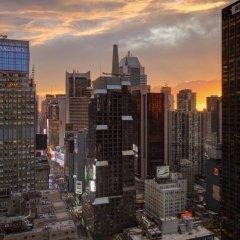 Отель Sheraton New York Times Square балкон