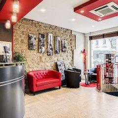 Отель Best Western Nouvel Orléans Montparnasse интерьер отеля