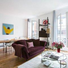 Отель onefinestay - Montparnasse Apartments Франция, Париж - отзывы, цены и фото номеров - забронировать отель onefinestay - Montparnasse Apartments онлайн комната для гостей фото 2
