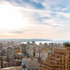 Отель Hyatt Regency Vancouver Канада, Ванкувер - 2 отзыва об отеле, цены и фото номеров - забронировать отель Hyatt Regency Vancouver онлайн балкон
