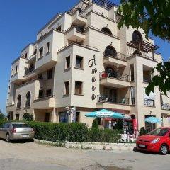 Апартаменты Menada Amara Apartments Солнечный берег вид на фасад
