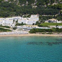 Отель Pelekas Beach (side Sea View - Half Board) Греция, Корфу - отзывы, цены и фото номеров - забронировать отель Pelekas Beach (side Sea View - Half Board) онлайн пляж