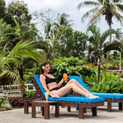 Отель Blue West Villas пляж