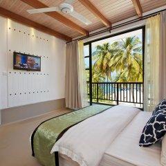 Отель Crystal Sands Beach Hotel Мальдивы, Маафуши - отзывы, цены и фото номеров - забронировать отель Crystal Sands Beach Hotel онлайн комната для гостей фото 3
