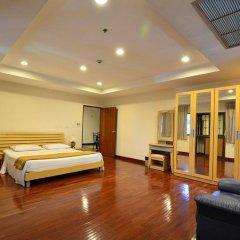 Апартаменты Piyavan Tower Serviced Apartment комната для гостей фото 5