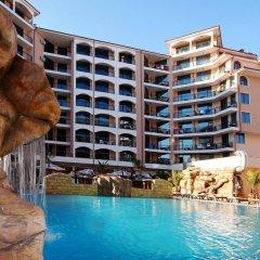 Отель Karolina complex Болгария, Солнечный берег - отзывы, цены и фото номеров - забронировать отель Karolina complex онлайн бассейн