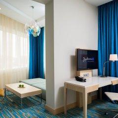 Гостиница Radisson Blu Челябинск удобства в номере фото 2