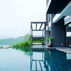 Отель Acqua Villa Nha Trang Вьетнам, Нячанг - отзывы, цены и фото номеров - забронировать отель Acqua Villa Nha Trang онлайн бассейн