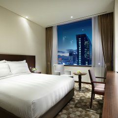 Отель Lotte City Hotel Myeongdong Южная Корея, Сеул - 2 отзыва об отеле, цены и фото номеров - забронировать отель Lotte City Hotel Myeongdong онлайн комната для гостей фото 9