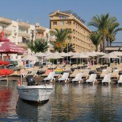 Cle Seaside Hotel Турция, Мармарис - отзывы, цены и фото номеров - забронировать отель Cle Seaside Hotel онлайн приотельная территория