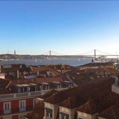 Отель Luxury T.M. Penthouse with a View Лиссабон балкон