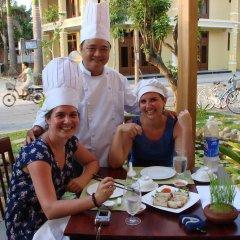 Отель Green Heaven Hoi An Resort & Spa Хойан питание