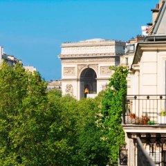 Отель Hôtel Champs Elysees Friedland балкон