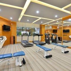 Апартаменты New Harbour Service Apartments фитнесс-зал фото 2