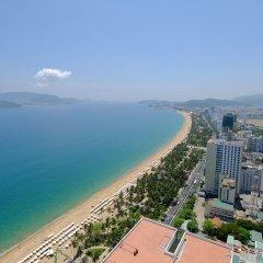 Апартаменты Sunrise Ocean View Apartment Нячанг пляж