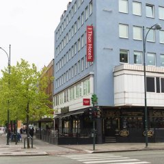 Отель Thon Hotel Trondheim Норвегия, Тронхейм - отзывы, цены и фото номеров - забронировать отель Thon Hotel Trondheim онлайн вид на фасад