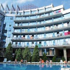 Отель Kamenec - Kiten Болгария, Китен - отзывы, цены и фото номеров - забронировать отель Kamenec - Kiten онлайн бассейн фото 2