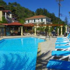 Отель Mirabelle Hotel Греция, Аргасио - отзывы, цены и фото номеров - забронировать отель Mirabelle Hotel онлайн бассейн