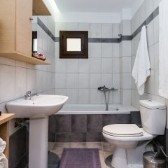 Отель Alektor Studios & Apartments Греция, Закинф - отзывы, цены и фото номеров - забронировать отель Alektor Studios & Apartments онлайн ванная фото 2