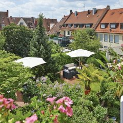 Отель Dürer-Hotel Германия, Нюрнберг - отзывы, цены и фото номеров - забронировать отель Dürer-Hotel онлайн балкон