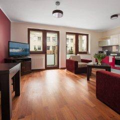 Апартаменты Apartinfo Exclusive Sopot Apartment комната для гостей фото 4