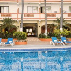 Отель El Pescador Hotel Мексика, Пуэрто-Вальярта - отзывы, цены и фото номеров - забронировать отель El Pescador Hotel онлайн бассейн фото 3