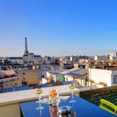 Отель Novotel Paris Vaugirard Montparnasse балкон