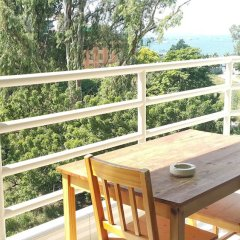 Отель Vtsix Condo Service at View Talay Condo балкон