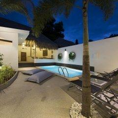 Отель Aditaya Pool Beach Villas Самуи бассейн