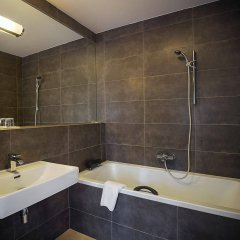 Отель & Residence U Tri Bubnu Чехия, Прага - 12 отзывов об отеле, цены и фото номеров - забронировать отель & Residence U Tri Bubnu онлайн ванная фото 2