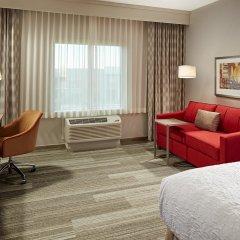 Отель Hampton Inn Long Beach Airport США, Эль-Монте - отзывы, цены и фото номеров - забронировать отель Hampton Inn Long Beach Airport онлайн комната для гостей фото 5