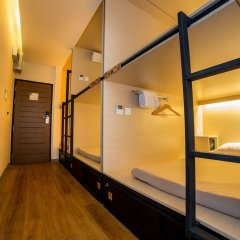 Cubic Bed Pratunam - Hostel Бангкок комната для гостей фото 2