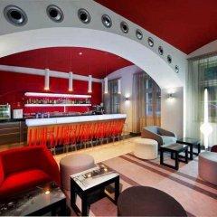 Отель Red & Blue design интерьер отеля фото 3