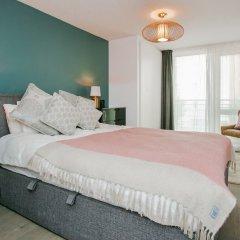 Отель Modern 2 Bedroom Flat In Greenwich комната для гостей фото 5