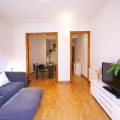 Отель Flateli Aribau Барселона комната для гостей фото 2