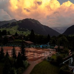 Отель Gstaad Palace Швейцария, Гштад - отзывы, цены и фото номеров - забронировать отель Gstaad Palace онлайн приотельная территория фото 2
