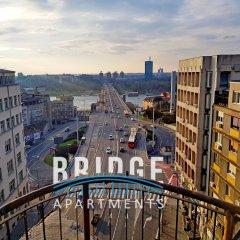 Отель Bridge Apart Belgrade Сербия, Белград - отзывы, цены и фото номеров - забронировать отель Bridge Apart Belgrade онлайн балкон