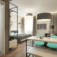 Отель Avenue Legerova 19 Чехия, Прага - отзывы, цены и фото номеров - забронировать отель Avenue Legerova 19 онлайн комната для гостей фото 4