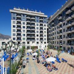 Отель Apartamentos Nuriasol Испания, Фуэнхирола - 7 отзывов об отеле, цены и фото номеров - забронировать отель Apartamentos Nuriasol онлайн бассейн фото 2